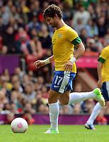 Olympia 2012 London  Fussball  Maenner   29.07.2012 Brasilien - Weissrussland ALEXANDRE PATO (Brasilien)