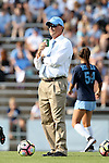 16 September 2016: UNC head coach Anson Dorrance. The University of North Carolina Tar Heels hosted the North Carolina State University Wolfpack in a 2016 NCAA Division I Women's Soccer match. NC State won the game 1-0.