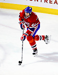 10 February 2010: Montreal Canadiens' defenseman Roman Hamrlik in action against the Washington Capitals at the Bell Centre in Montreal, Quebec, Canada. The Canadiens defeated the Capitals 6-5 in sudden death overtime, ending Washington's team-record winning streak at 14 games. Mandatory Credit: Ed Wolfstein Photo
