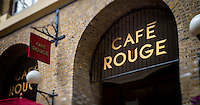 Café Rouge, French Restaurant Chain, London, Britain - Apr 2014.