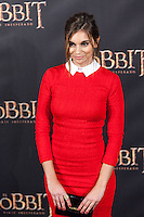 "Norma Ruiz attends  ""The Hobbit: An Unexpected Journey"" premiere at the Callao cinema- Madrid."