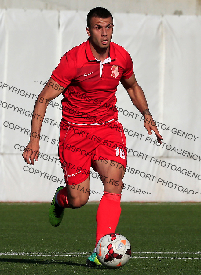 Fudbal Jelen Super League season 2014-2015 <br /> Vozdovac v Napredak (Krusevac)<br /> Stevan Lukovic<br /> Beograd, 09.05.2015.<br /> foto: Srdjan Stevanovic/Starsportphoto&copy;