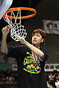 Kosuke Takeuchi (Alvark), .APRIL 22, 2012 - Basketball : .JBL FINALS 2011-2012 GAME 4 .between Aisin Sea Horses 64-83 Toyota Alvark .at 2nd Yoyogi Gymnasium, Tokyo, Japan. .With this victory Toyota Alvark won their first championship in 5 years..