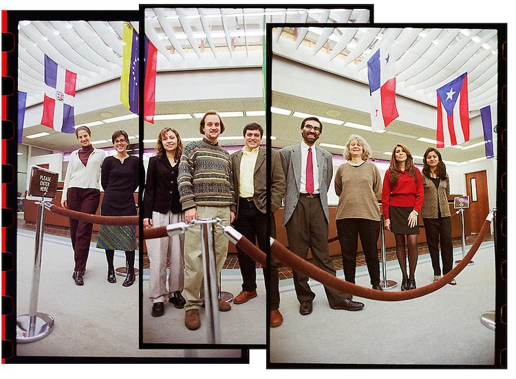 the staff of the downtown durham hispanic credit union