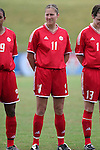 Randee Hermus, of Canada, on Sunday June 26th, 2005, during an international friendly soccer match at Virginia Beach Sportsplex in Virginia Beach, Virginia. The United States won the game 2-0.