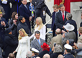 Trump Children arrive for the swearing-in ceremony as Donald J. Trump is sworn-in as the 45th President of the United States on the West Front of the US Capitol on Friday, January 20, 2017.<br /> Credit: Ron Sachs / CNP<br /> (RESTRICTION: NO New York or New Jersey Newspapers or newspapers within a 75 mile radius of New York City)