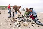 Trillium, Kylie-ana, Emma & Rosita On Beach Cleanup