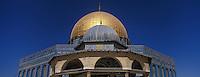 Asie/Israël/Judée/Jérusalem: le Haram el-Chérif et le Dôme du Rocher