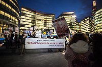 """17.02.2014 - """"No Water Weapons on our streets!"""" - Demo & Public Meeting at City Hall"""