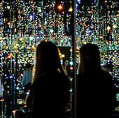 Infinity Mirrors -The Souls of Millions of Light Years Away, Yayoi Kusama: Infinity Mirrors Exhibit at the Hirshhorn, Washington DC 2017.