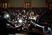 WARSAW, POLAND, December 22, 2016<br /> Anti-government MP's are transmitting live using smarphones from the main plenary hall of the Sejm, Polish parliament, which is occupied by them  since December 17.<br /> The opposition objects to government plans to ban most of journalists from  covering parliamentary proceedings. The opposition MP's protest delayed a budget 2017 vote, which was later held away from the main parliament chamber and is now considered unlawful, which sparks further protest. The standoff has started December 17 and is bound to continue until the next parliamentary session scheduled for January 11.<br /> (Photo by Civic Platform MP for Piotr Malecki / Napo Images)<br /> ****<br /> WARSZAWA, 22.12.2016. <br /> Poslowie opozycji z partii PO i Nowoczesna transmituja na zywo z sali plenarnej sejmu, gdzie pozostaja  nie opuszczajac jej od 17/12 i planuja pozostanie do nastepnego posiedzenia 11 stycznia. Jest to dzialanie w obronie wolnosci mediow i przeciwko uchwaleniu budzetu przez partie rzadzaca w innej sali, bez obecnosci poslow opozycji. <br /> Fot. Posel PO dla  Piotra Maleckiego / Napo Images / Forum<br /> <br /> ###ZDJECIE MOZE BYC UZYTE W KONTEKSCIE NIEOBRAZAJACYM OSOB PRZEDSTAWIONYCH NA FOTOGRAFII### ###
