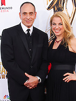 PASADENA, CA, USA - OCTOBER 10: Nestor Serrano, Debbie Ross arrive at the 2014 NCLR ALMA Awards held at the Pasadena Civic Auditorium on October 10, 2014 in Pasadena, California, United States. (Photo by Celebrity Monitor)