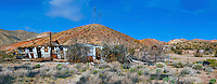 Abandoned House, Aerospace Highway, Midland Trail, Mojove Desert, En Route to Death Valley NP, Panorama