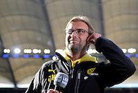 FUSSBALL   1. BUNDESLIGA   SAISON 2012/2013   5. Spieltag SV Werder Bremen - Hamburger SV                     22.09.2012         Trainer Juergen Klopp (Borussia Dortmund)