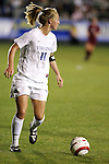 Virginia's Becky Sauerbrunn on Friday, November 4th, 2005 at SAS Stadium in Cary, North Carolina. The University of Virginia Cavaliers defeated the Florida State University Seminoles 2-0 in their Atlantic Coast Conference Tournament Semifinal game.