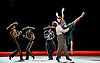 English National Ballet <br /> Triple Bill at Sadler's Wells, London, Great Britain <br /> 12th April 2016 <br /> world premier rehearsal <br /> <br /> <br /> Broken Wings<br /> choreography by Annabelle Lopez Ochoa<br /> Irek Mukhamedov<br /> as Diego Rivera<br /> <br /> <br /> Begone Cao as Diego's Mistress<br /> <br /> <br /> Photograph by Elliott Franks <br /> Image licensed to Elliott Franks Photography Services