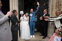 Mariage religieux de Julie Taton et Harold Van Der Straten - Belgique