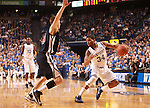 UK guard Julius Mays dribbles the ball during the first half of the men's basketball game vs. Samford at Rupp Arena in Lexington, Ky., on Tuesday, December 4, 2012. Photo by Emily Wuetcher | Staff..