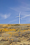 Wind farm, south central Wyoming