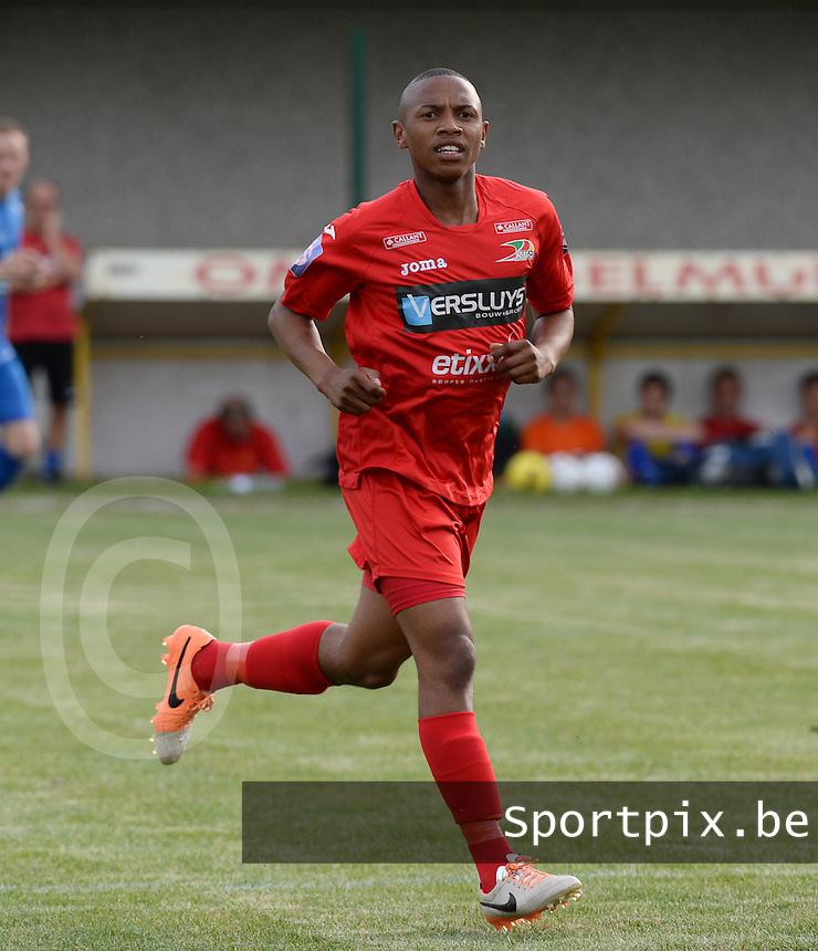 KV Oostende : Andile Jali <br /> foto VDB / BART VANDENBROUCKE