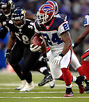 31 December 2006: Buffalo Bills cornerback Terrence McGee (24) in action during a game against the Baltimore Ravens at M&amp;T Bank Stadium in Baltimore, Maryland. The Ravens defeated the Bills 19-7. Mandatory Photo Credit: Ed Wolfstein Photo.<br />
