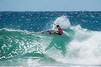 Snapper Rocks, Coolangatta, Queensland Australia. (Tuesday March 11, 2014) –  The swell  was in the 3'-6' range all day and the Roxy Pro was completed local favourite Stephanie Gilmore(AUS) defeating first time finalist and 2013 Rookie of the year Bianca Buitendag (ZAF) in the 35 minute final. Photo: joliphotos.com