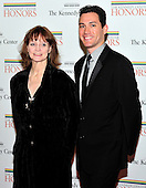 Suzanne Farrell, a 2005 recipient of a Kennedy Center Honor, and Michael Cook arrive for the formal Artist's Dinner honoring the recipients of the 2011 Kennedy Center Honors hosted by United States Secretary of State Hillary Rodham Clinton at the U.S. Department of State in Washington, D.C. on Saturday, December 3, 2011. The 2011 honorees are actress Meryl Streep, singer Neil Diamond, actress Barbara Cook, musician Yo-Yo Ma, and musician Sonny Rollins..Credit: Ron Sachs / CNP