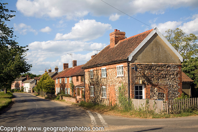 Village Of Butley Suffolk England Geographyphotos