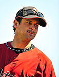 2 March 2009: Houston Astros' third baseman Aaron Boone warms up prior to a Spring Training game against the New York Yankees at Osceola County Stadium in Kissimmee, Florida. The teams played to a 5-5, 9-inning tie. Mandatory Photo Credit: Ed Wolfstein Photo