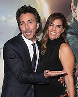 "Westwood, CA - NOVEMBER 06: Shawn Levy, Serena Levy at Premiere Of Paramount Pictures' ""Arrival"" At Regency Village Theatre, California on November 06, 2016. Credit: Faye Sadou/MediaPunch"