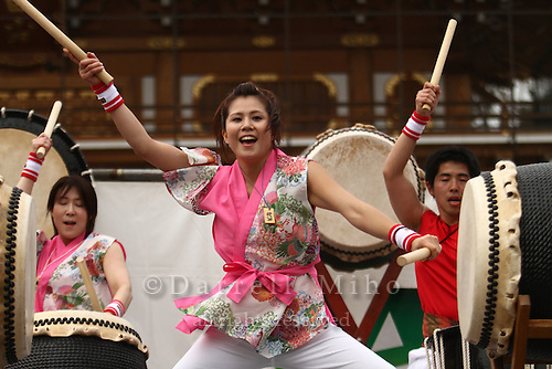 Apr. 10, 2010; Narita, Japan - Narita Taiko Festival
