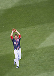 29 May 2016: Washington Nationals outfielder Chris Heisey in action against the St. Louis Cardinals at Nationals Park in Washington, DC. The Nationals defeated the Cardinals 10-2 to split their 4-game series. Mandatory Credit: Ed Wolfstein Photo *** RAW (NEF) Image File Available ***