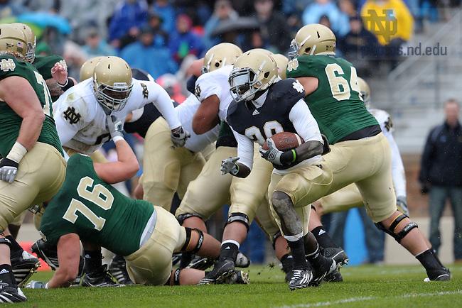 Apr. 16, 2011; 2011 Blue-Gold game...Photo by Matt Cashore