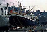 SS John W Brown, Education ship. Series of images from New York between 1975 -1977. New York,USA.