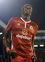 Blackburn Rovers' Lucas Joao celebrates scoring his sides late equaliser <br /> <br /> Photographer /Ashley WesternCameraSport<br /> <br /> The EFL Sky Bet Championship - Fulham v Blackburn Rovers - Tuesday 14th March 2017 - Craven Cottage - London<br /> <br /> World Copyright &copy; 2017 CameraSport. All rights reserved. 43 Linden Ave. Countesthorpe. Leicester. England. LE8 5PG - Tel: +44 (0) 116 277 4147 - admin@camerasport.com - www.camerasport.com