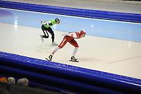 SCHAATSEN: HEERENVEEN: 26-12-2013, IJsstadion Thialf, KNSB Kwalificatie Toernooi (KKT), 5000m, Koen Verweij, Renz Rotteveel, ©foto Martin de Jong