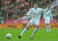 FUSSBALL   1. BUNDESLIGA  SAISON 2011/2012   23. Spieltag  26.02.2012 FC Bayern Muenchen - FC Schalke 04        Julian Draxler (FC Schalke 04) am Ball