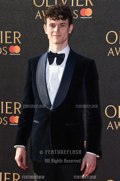 Charlie Stemp at The Olivier Awards 2017 at the Royal Albert Hall, London, UK. <br /> 09 April  2017<br /> Picture: Steve Vas/Featureflash/SilverHub 0208 004 5359 sales@silverhubmedia.com
