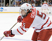 Cameron Schilling (Miami - 5) - The University of New Hampshire Wildcats defeated the Miami University RedHawks 3-1 (EN) in their NCAA Northeast Regional Semi-Final on Saturday, March 26, 2011, at Verizon Wireless Arena in Manchester, New Hampshire.