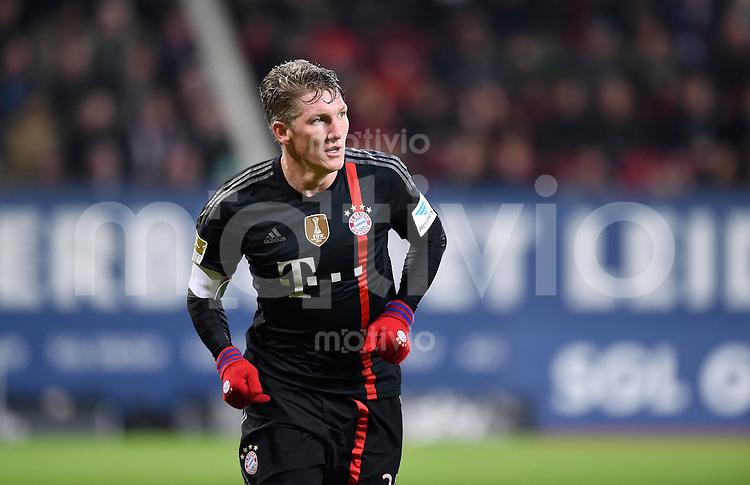 Fussball  1. Bundesliga  Saison 2014/2015  15. Spieltag  FC Augsburg - FC Bayern Muenchen     13.12.2014 Bastian Schweinsteiger (FC Bayern Muenchen)