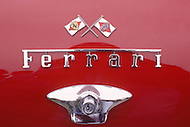 August 26th, 1984. Two details of Ferrari cars.