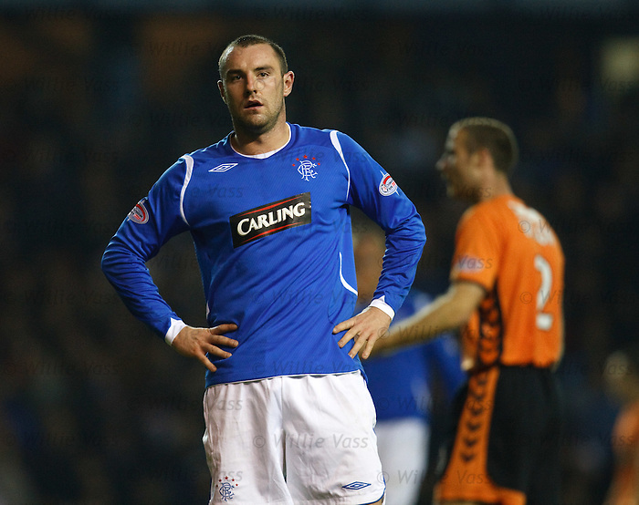 Kris Boyd after missing a sitter