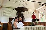 Foto: VidiPhoto<br /> <br /> ARNHEM - Bruiloft van Peter MacLean en Mareike Falke in het Nederlands Openluchtmuseum in Arnhem.