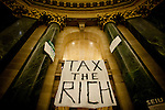 Protests continue at the State Capitol in Madison, WI, February 23, 2011.