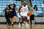 04 November 2015: North Carolina's Jamie Cherry (10). The University of North Carolina Tar Heels hosted the Wingate University Bulldogs at Carmichael Arena in Chapel Hill, North Carolina in a 2015-16 NCAA Women's Basketball exhibition game. UNC won the game 86-84.