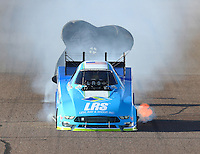 Feb 24, 2017; Chandler, AZ, USA; NHRA funny car driver Tim Wilkerson during qualifying for the Arizona Nationals at Wild Horse Pass Motorsports Park. Mandatory Credit: Mark J. Rebilas-USA TODAY Sports