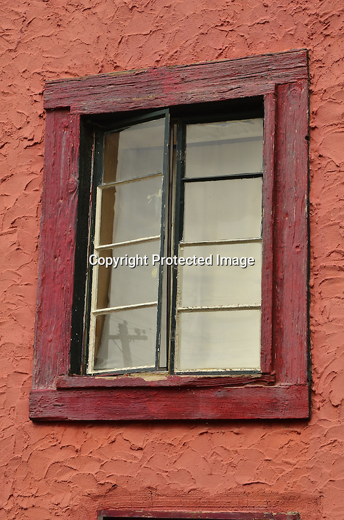 Stock photo of old window