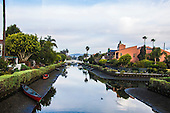 Stock photo of Venice Beach Canal