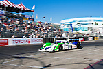 LONG BEACH, CA - APR 15: American Le Mans Drivers Chris Dyson/Guy Smith of the Dyson Racing Team during practice run. The team finished second place in the LMP1 class . Photo by Eduardo E. Silva