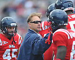 Ole Miss' Grove Bowl in Oxford, Miss. on Saturday, April 16, 2011.